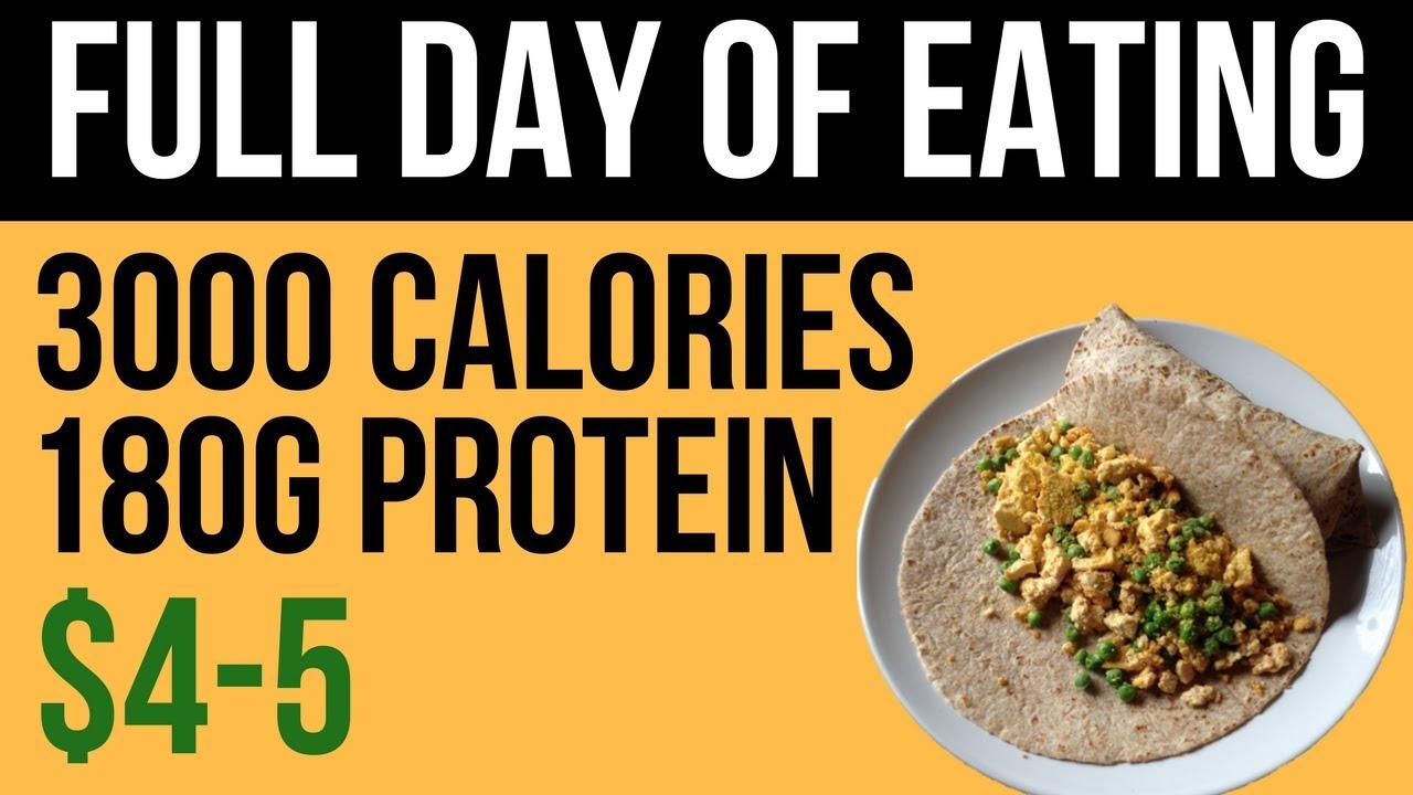 is a 3000 calorie diet healthy?