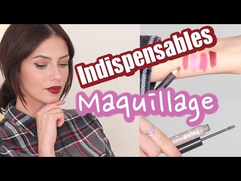 Top 5 Maquillage - Mes INDISPENSABLES !