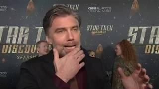Anson Mount cried when sitting in 'Star Trek' captain's chair