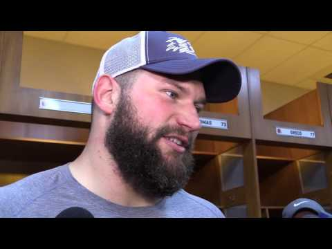 Joe Thomas on the Browns OL after giving up eight sacks to Steelers