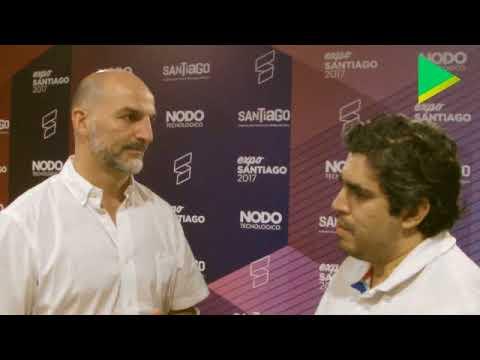 Entrevista a Diego Noriega en la Expo Santiago 2017