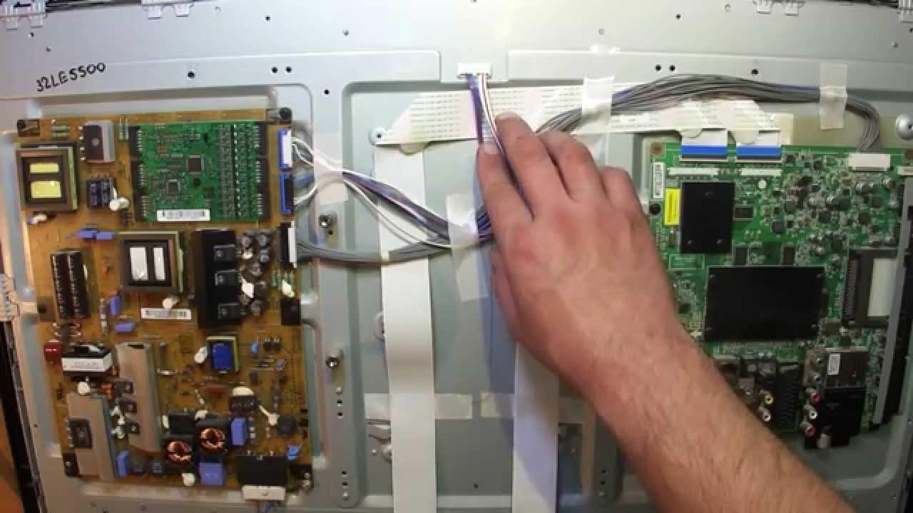 Ремонт телевизоров lg жк своими руками