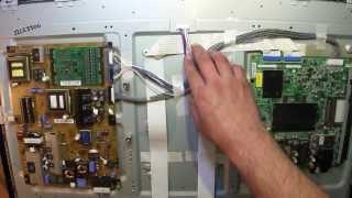 Неудавшийся ремонт жк телевизора LG 32LE5500.