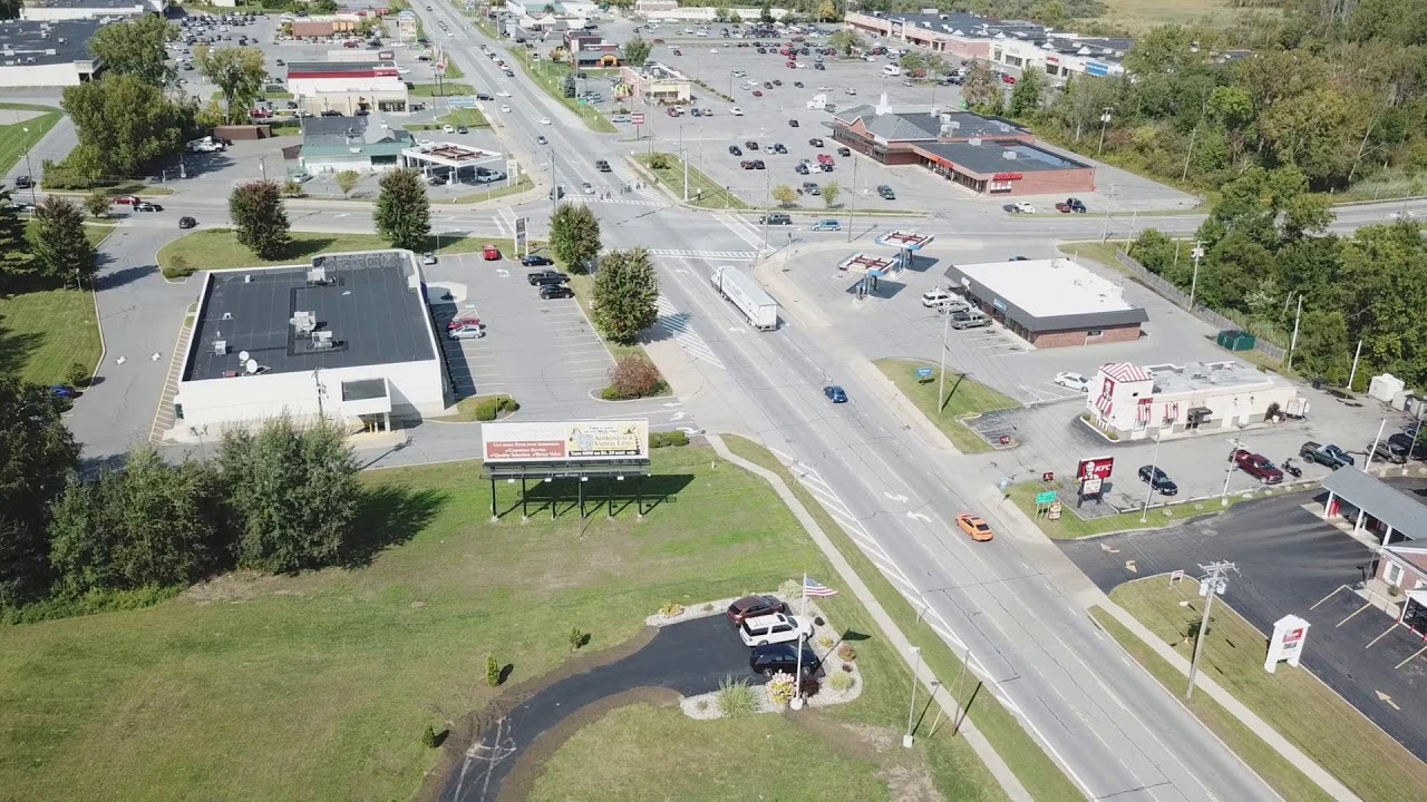 Browns Ford Johnstown Ny >> Johnstown Ny Rt 30a Facing North Aerial View With Drone
