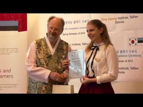 King Sejong Institute, Tallinn, Estonia Korean Language & Culture 5 탈린세종학당
