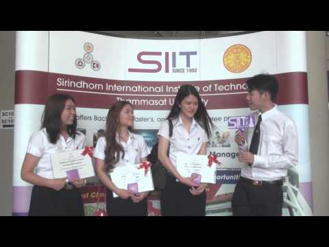 SIIT Orientation for New Undergraduate Students 2014