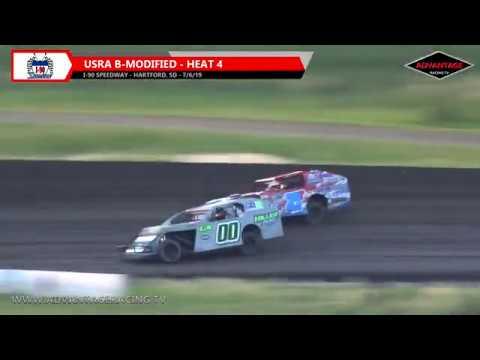 B-Modified Heats - I-90 Speedway - 7/6/19