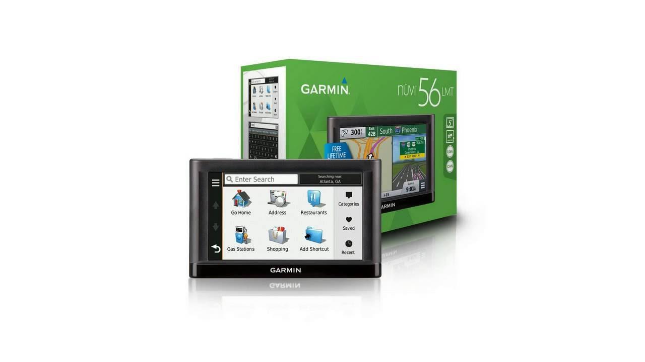 Garmin Nüvi LMT GPS Navigators System With Spoken Turn By Turn - Free us map for garmin nuvi 55