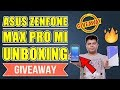 Asus Zenfone Max Pro M1 Not Just Unboxing, Also Giveaway, You Can Win One