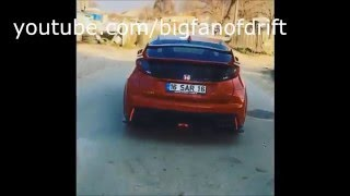 Honda Civic Type-R Exhaust Sounds Compilation
