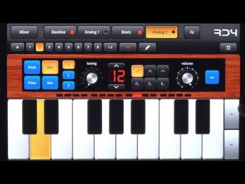 mikrosonic RD4 Groovebox for Android