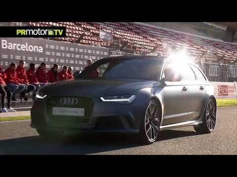 Audi entrega sus coches a los Jugadores del FC Barcelona - Material Completo en PRMotor TV Channel