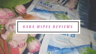 Kara refreshing facial wipes review