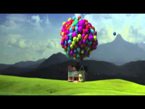 flying house inspired by up the movie youtube