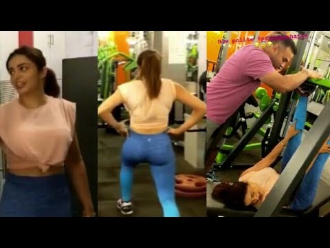 Neha Pendse Gym Workout Video thumbnail