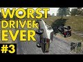 PUBG | WORST DRIVER EVER - FUNNY MOMENTS #3
