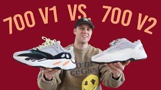 COMPARING ADIDAS YEEZY 700 V1 TO 700 V2