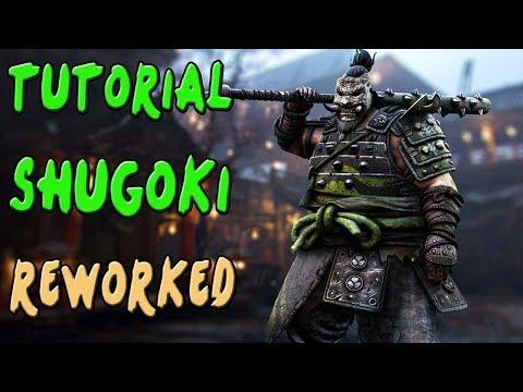 FOR HONOR | GUIA TUTORIAL SHUGOKI REWORKED | COMBOS Y TRUCOS | Gameplay Español