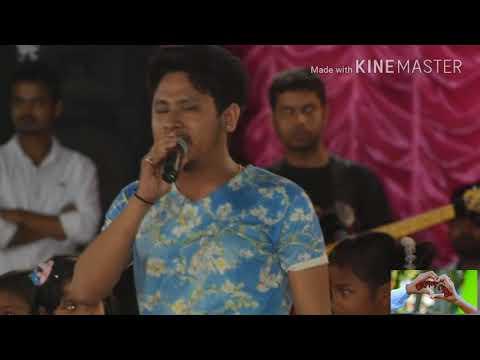 Rakesh riyan show in hajo assamis singer