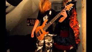 In Flames - Delight And Angers & March To The Shore [Special Bass Cover]