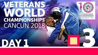 Veterans World Championships 2018: Day 1 - Day 1: Tatami 3