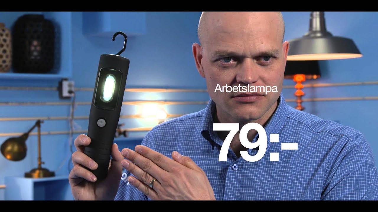 Vi på Clas Ohlson har lampor i alla möjliga varianter YouTube