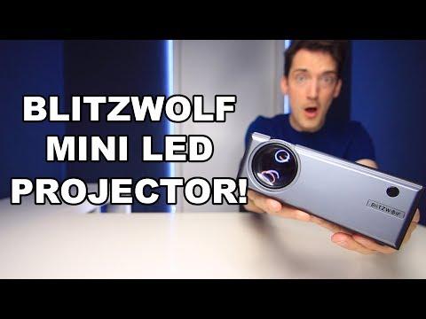 BLITZWOLF BW-VP1 MINI LED PROJECTOR REVIEW!