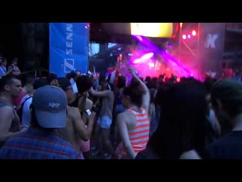 Intro electronic music festival 2013 - Beijing - The Syndicate Bass Stage
