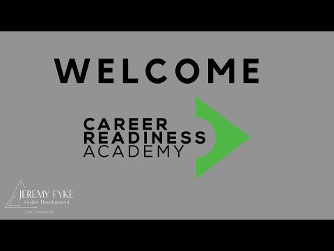 Welcome | Career Readiness Academy