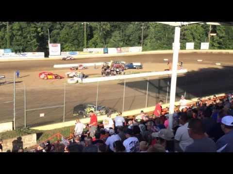 Highland Speedway 07 09 16 Garys Qualifing