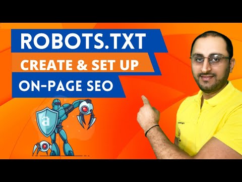 What is ROBOT.TXT File and How to Setup and Create Robots.txt File 2019 [Hindi] [Super Easy Way]