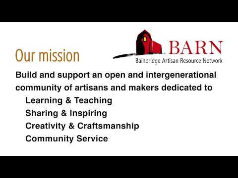 BARN partnership with Bainbridge Prepares for COVID-19 response (makerspace)