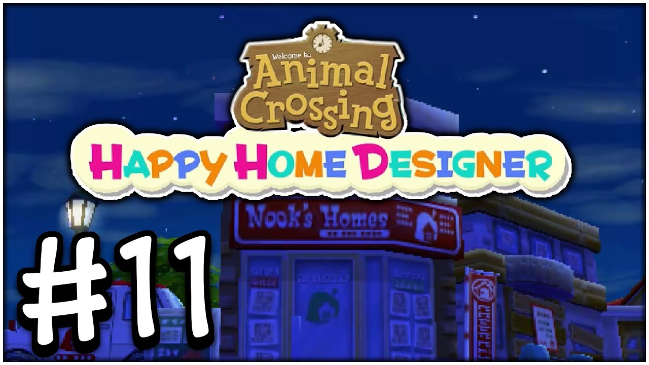 Animal crossing happy home designer part 11 fast food for 7 11 happy home designer