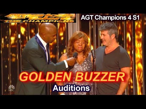 Kechi Wins Golden Buzzer Fr Simon You Are The Reason Audition | America's Got Talent Champions 4 AGT