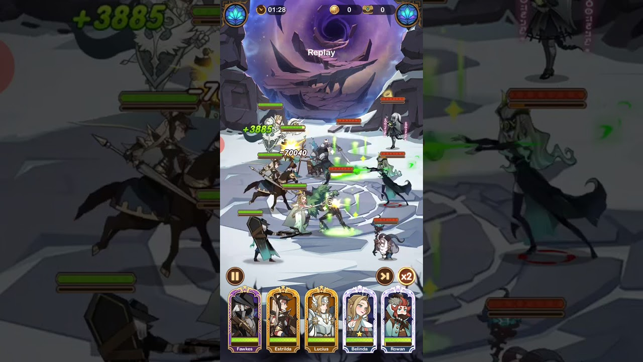 AFK Arena Stage 20-46 - YouTube
