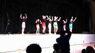 6th grade girls talent show dance 1/30