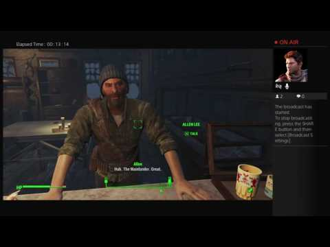 Fallout 4 first broadcast