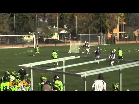 Liam Simes Fall 2012 Highlights