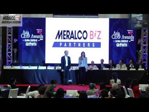 Asia CEO Awards  Meralco Biz Partners Entrepreneur of the Year Award