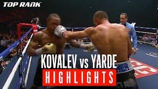 Kovalev vs Yarde: Highlights from Kovalev's KO Win