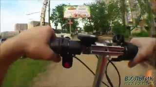 видео Электросамокат WELLNESS SAMBIT MIKU 400