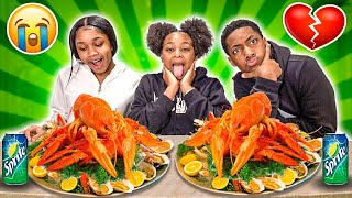 EXPOSING JAY AND MAGIC TRUE FEELINGS FOR EACH OTHER! 💔😭 (SEAFOOD MUKBANG)
