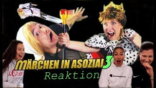 MÄRCHEN in ASOZIAL 3 - Julien Bam feat. Kelly | Reaktion