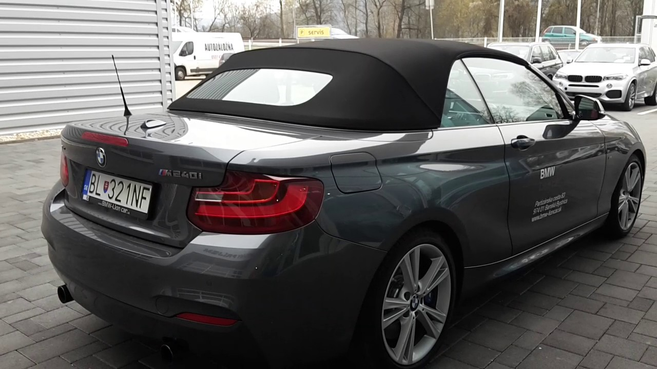 cabrio bmw xdrive 240 i m2 youtube. Black Bedroom Furniture Sets. Home Design Ideas