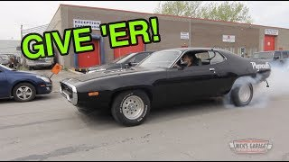 1972 Plymouth 440 Gets Beat Up - Nick's Tune & Test