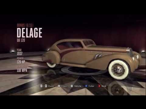 LA Noire: All Hidden Bonus Vehicles Guide