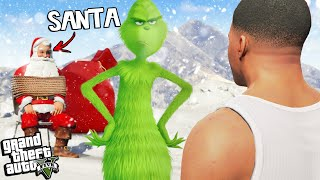 The GRINCH has RETURNED in GTA 5
