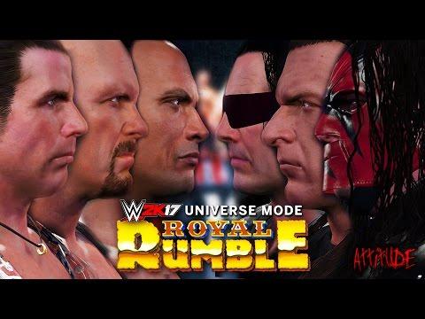 WWE 2K17 Universe Mode - Ep 2 - ROYAL RUMBLE MATCH!!