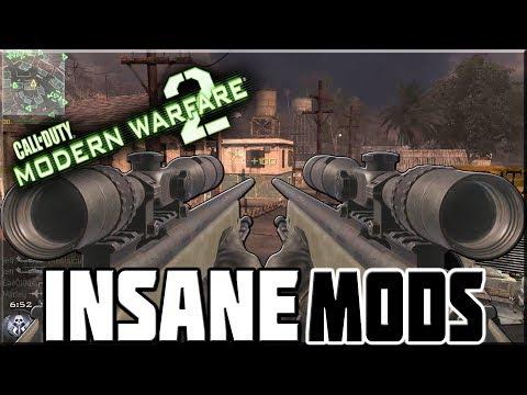 PLAYING MODERN WARFARE 2 WITH INSANE MODS! (IW4x)