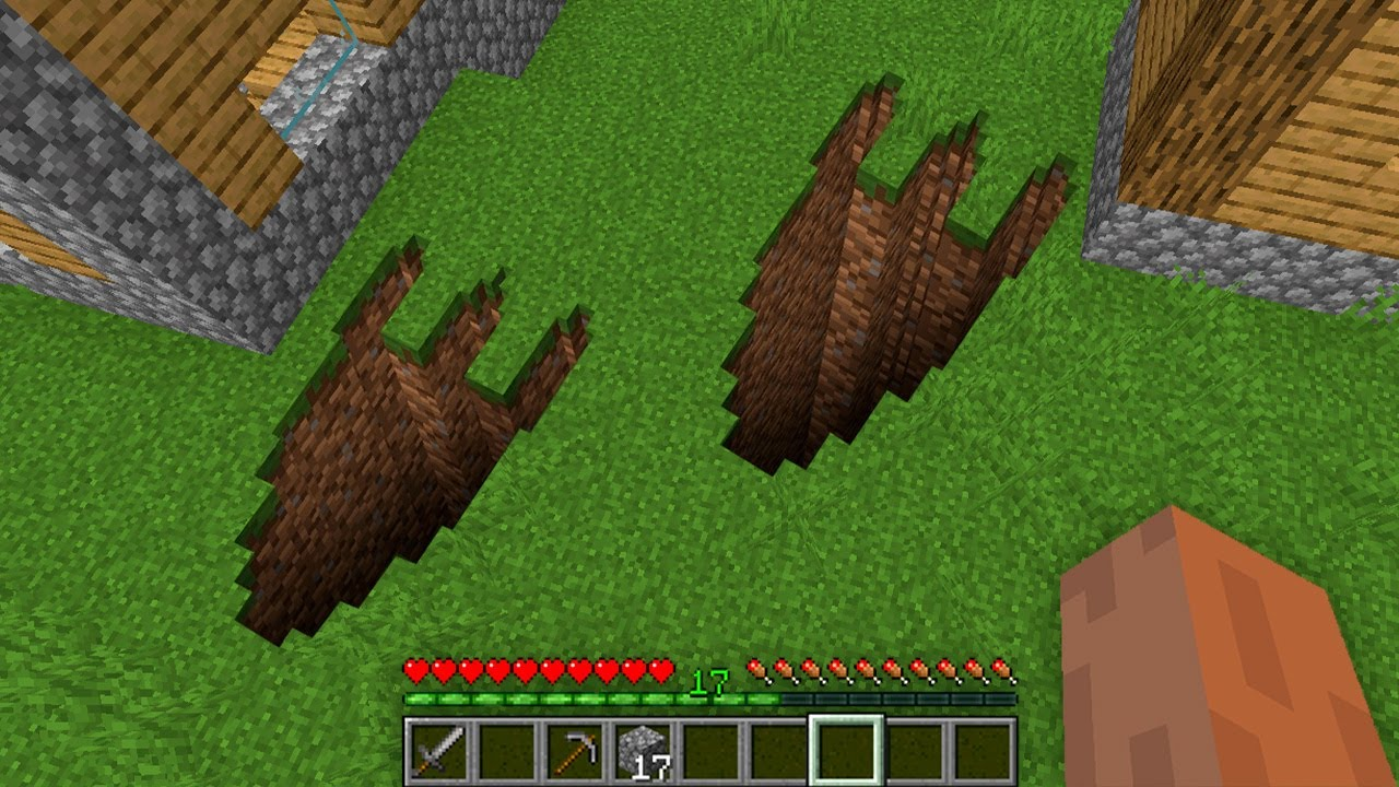 Download HOW NOOB FOUND DINO PAW TUNNEL IN VILLAGE!? Minecraft NOOB vs PRO! 100% TROLLING TRAP HOLE PIT